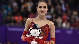 ALINA ZAGITOVA Oly FS Korean commentary with ru en Олимпиада с корейскими комментариями