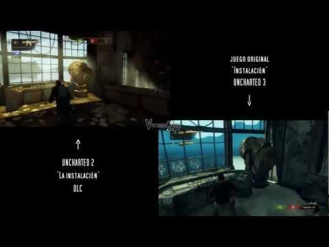 Análisis mapas remasterizados - Parte 1 | Uncharted 2 - Uncharted 3