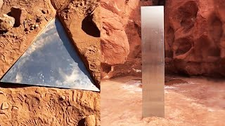 Monolith in Utah Desert Has Mysteriously Disappeared