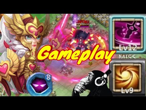 New Hero | Rosaleen | Scared Light | Gameplay | Castle Clash