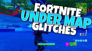 Fortnite Glitches in SEASON 6: GODMODE Glitches Fortnite! GODMODE, INVISIBLE & Under Map Glitches!