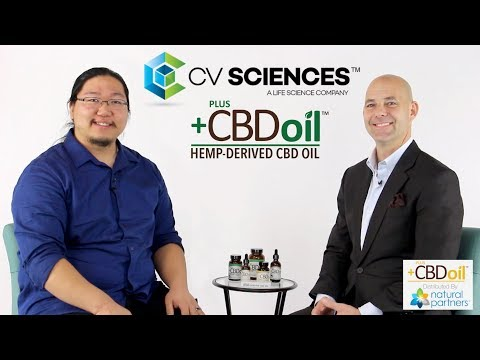 CV Sciences CBD Oil | +CBD