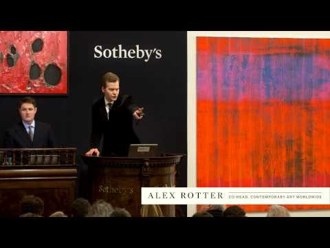 Hidden Treasures Drive the Contemporary Art Evening Auction Total to £88 million
