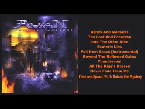 Avian -- Ashes and Madness (Full Album)