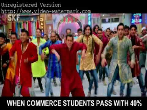 Science students vs Commerce students + Bollywood Songs