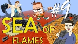 MINECRAFT : SEA OF FLAMES - SALVATE IL SOLDATO ST3PNY! w/SurrealPower & Vegas #9