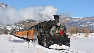 * Winter Steam Trains On The Durango & Silverton D&SNGRR