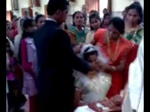 Christian mariage in Kerala Roman Catholic syrian christian
