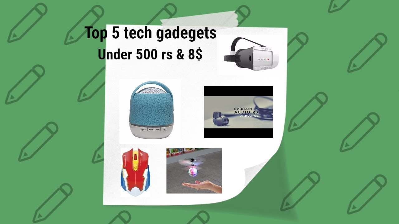 Top 5 Tech Under Rs 500 Tech Gadgets And Accessories