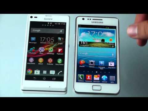 Sony Xperia L VS Samsung Galaxy S2 Plus, en español