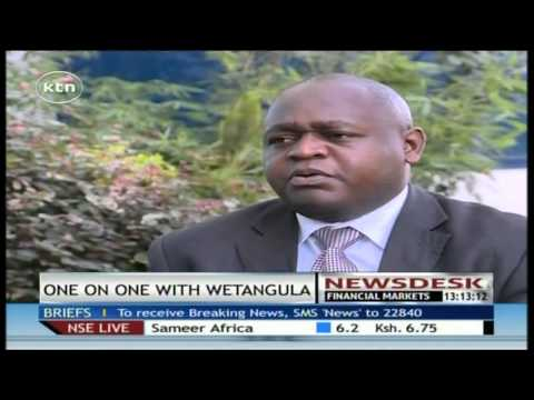 One on One with Moses Wetangula