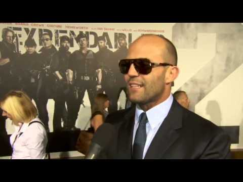 Jason Statham at The Expendables 2 Premiere! HD]