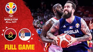 Serbia start with a statement victory over Angola! - Full Game - FIBA Basketball World Cup 2019