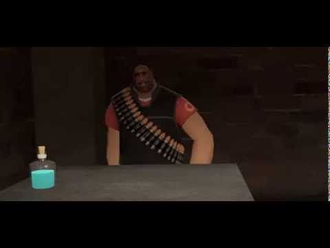 Heavy tries to sell a potion