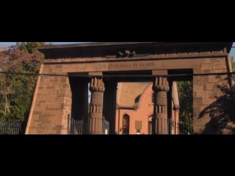 Behind the Gates of Grove Street Cemetery