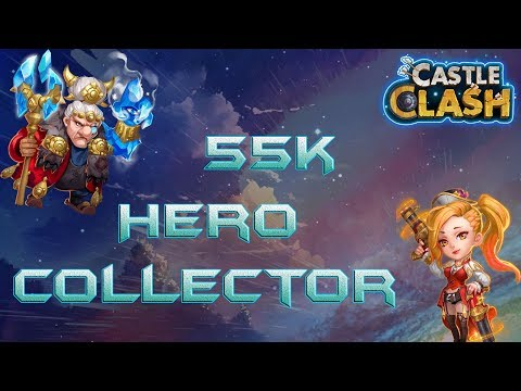 55k Gems - MaHatma Hero Collector | Castle Clash