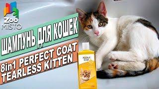 Шампунь для кошек 8в1 Perfect Coat Terless Kitten | Обзор шампуни | 8in1 Cat's Shampoo Review