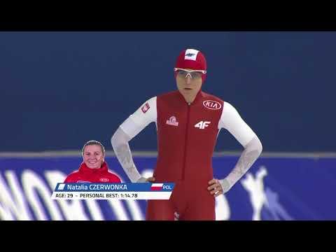 1000m Ladies - WC3 Calgary 2017/2018