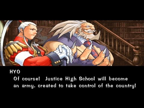Rival Schools [Arcade] - Hyo & Raizo (with both endings)