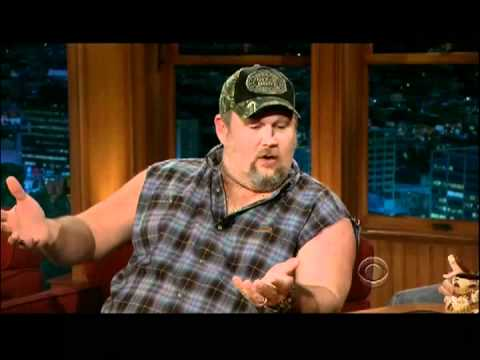 Craig Ferguson 1/20/12D Late Late Show Larry the Cable Guy XD