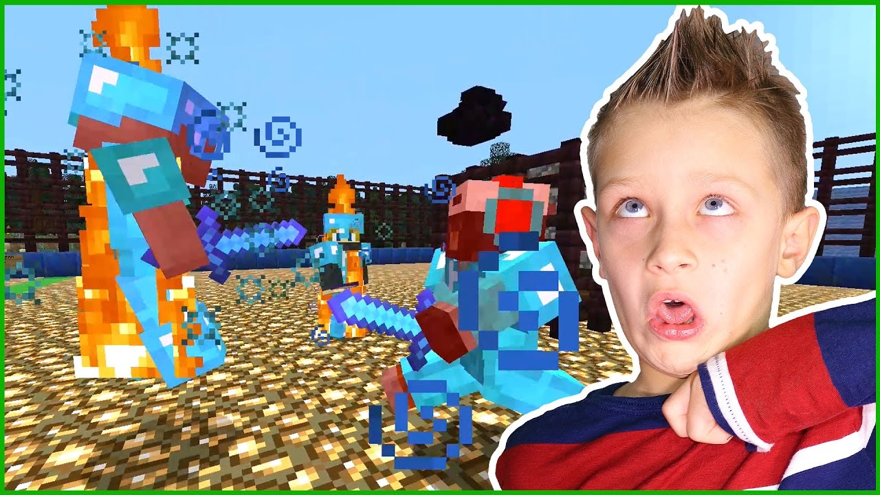 Download PvPing with Friends in my Minecraft Realm Arena