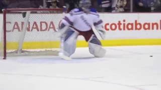 Bauer 1S OD1N sliding with Lundqvist and Dubnyk
