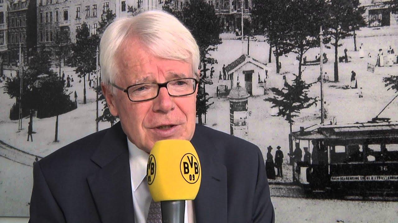 Dr. Reinhard Rauball über die Watzke-Vertragsverlängerung