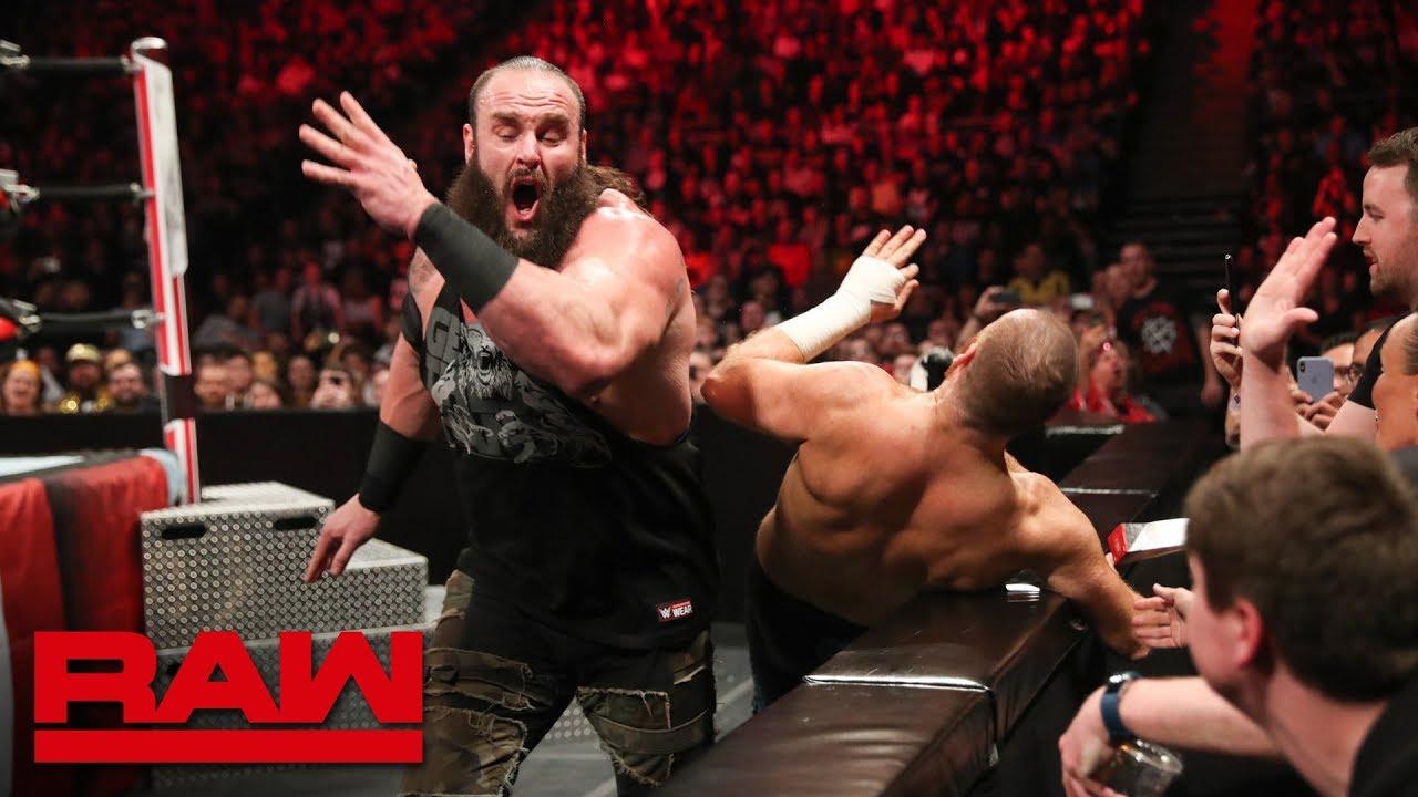 Braun Strowman vs. Sami Zayn – Falls Count Anywhere Match: Raw, May 13, 2019