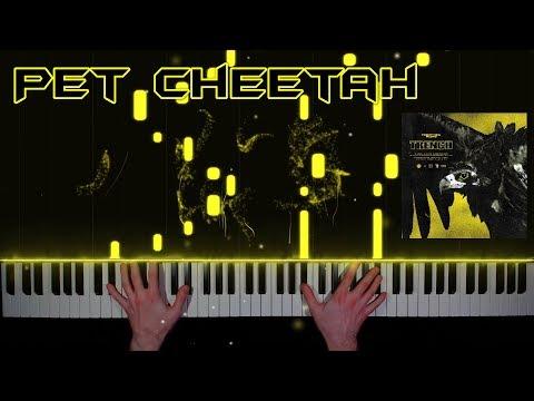 twenty one pilots - Pet Cheetah - piano cover   tutorial   how to play