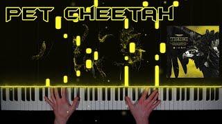 twenty one pilots - Pet Cheetah - piano cover | tutorial | how to play