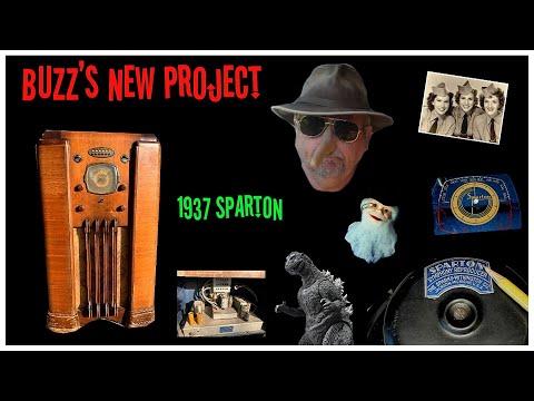1937 Sparton Model 1068 Restore Part 1