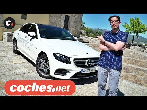 Mercedes-Benz Clase E 300 de | Primera prueba / Review en español | Híbrido plug-in | coches.net
