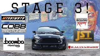 How Much Does It Cost To Go Stage 3?? | Focus ST