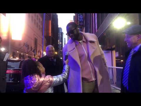 DWYANE WADE ANSWERS QUESTIONS ABOUT THE DUNK CONTEST WITH JAZZYS WORLD TV