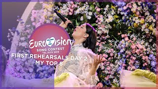 Eurovision 2019 - First Rehearsals [DAY 2] - My Top 8 [Semi Final 1]
