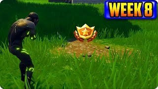 Fortnite: Search Between a Bear, Crater, and a Refrigerator Shipment - Week 8 Location