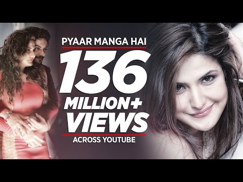 PYAAR MANGA HAI Video Song | Zareen Khan,Ali Fazal | Armaan Malik, Neeti Mohan| Latest Hindi Song