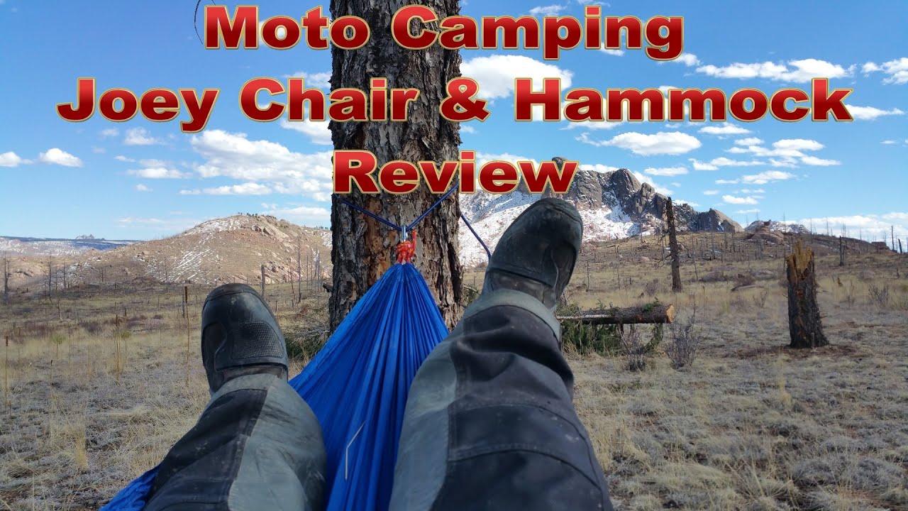 Moto Camping Joey Chair & Hammock Review