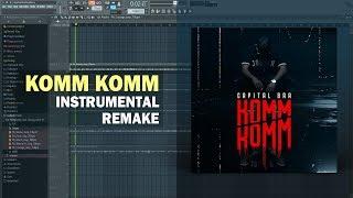Capital Bra - Komm Komm (Instrumental) + Free FLP Remake