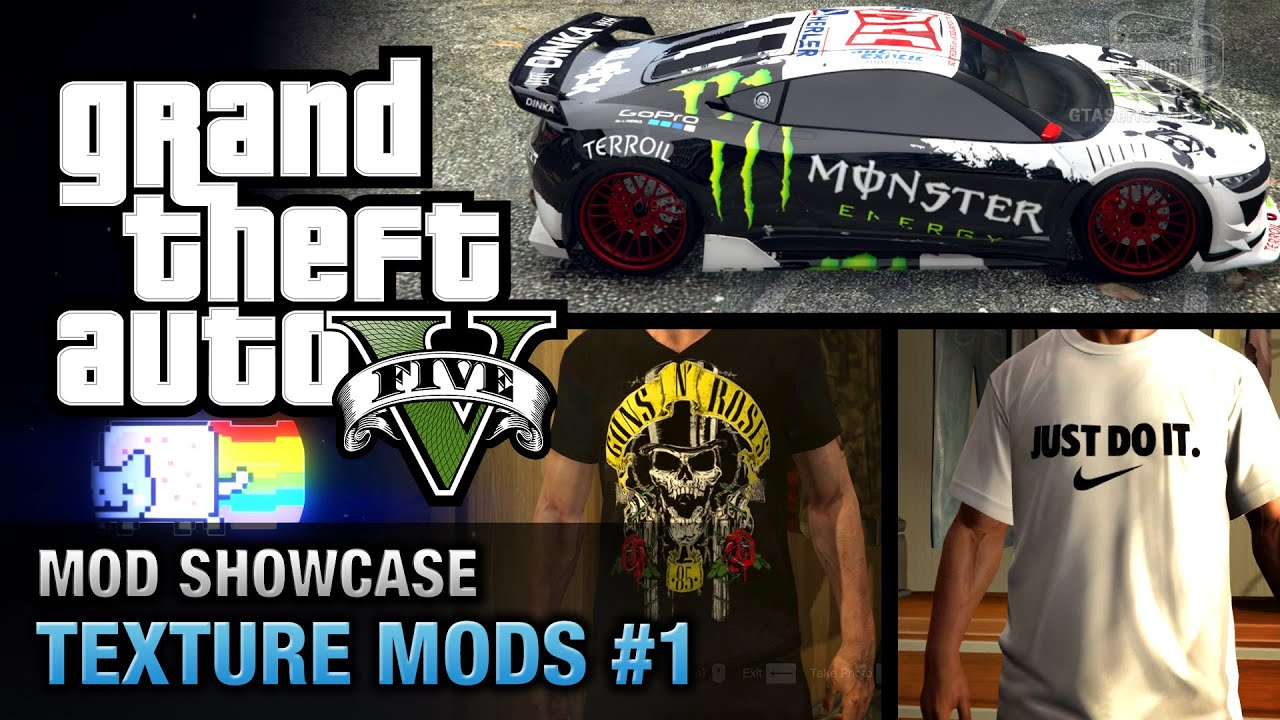 GTA 5 Texture Mods Are Now Possible | One Angry Gamer