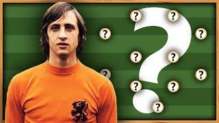 🇳🇱 Le XI de rêve de Cruyff ● (avec une surprise !)