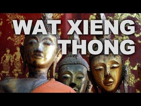 Wat Xieng Thong Temple in Luang Prabang