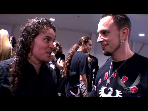 Vinnie Moore,Mark Tremonti And Leslie West At Dean Guitars NAMM 09