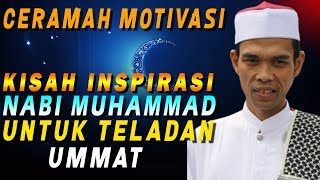 Video Kisah Inspirasi Nabi Muhammad SAW | Ustad Abdul Somad, Lc., MA download MP3, 3GP, MP4, WEBM, AVI, FLV Juli 2018