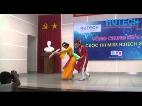 Miss Hutech 2012 - Múa: Em đi chùa hương - Thí sinh Lê Thị Sang