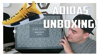 adidas Unboxing! Human Race NMD + Z.N.E Apparel!