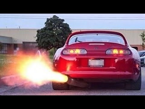 Crazy Turbo Cars Compilation Accelerations Backfire Rev Limiter Incredible  Sound !! - YouTube