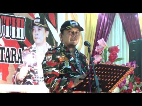 Pelantikan laskar merah putih sulawesi utara 2017 part 03