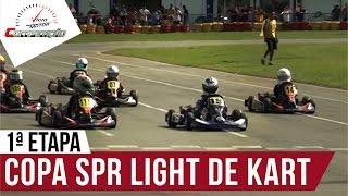 1ª Etapa da Copa SPR Light de Kart em Penha (SC) I Programa Competição