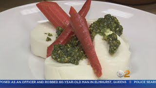 Tony & Stephanie Tantillo's Recipe For Mozzarella, Pesto, and Carrots thumbnail